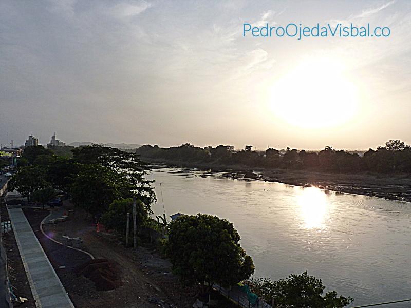 Atardecer en el majestuoso Rio Sinú. Montería, Cordoba Foto por: Pedro Ojeda Visbal