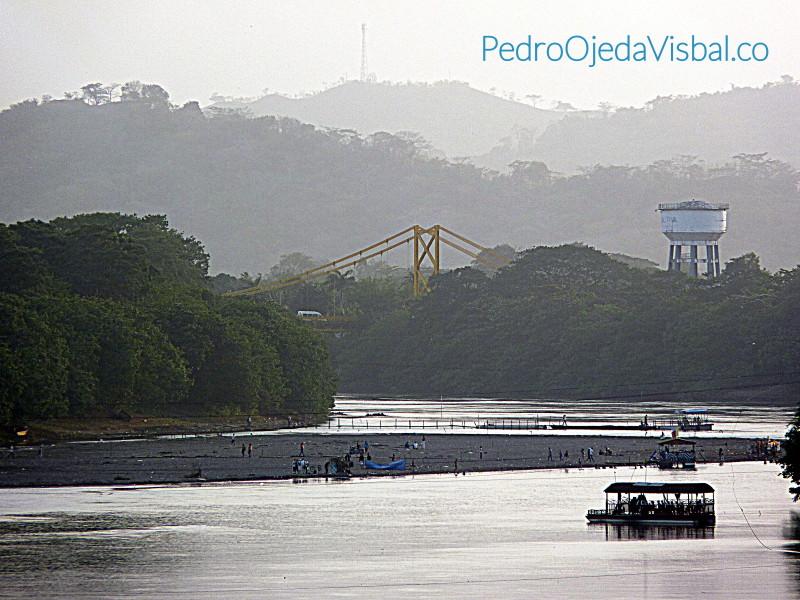 Playa Río Sinú - Pedro Ojeda Visbal Empresario de desarrollo inmobiliario y restaurantes de Montería.