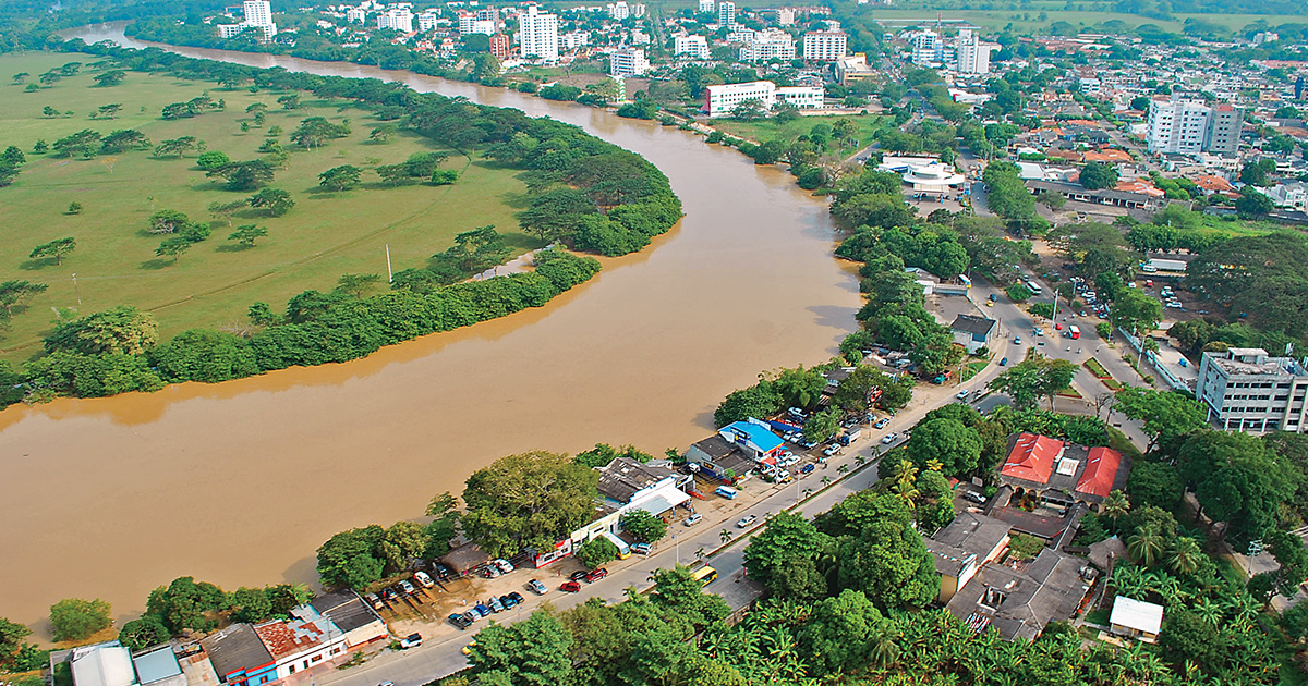 monteria mira al rio